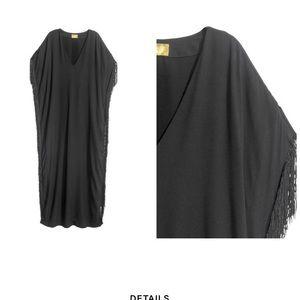 H&M Kaftan Fringe Dress